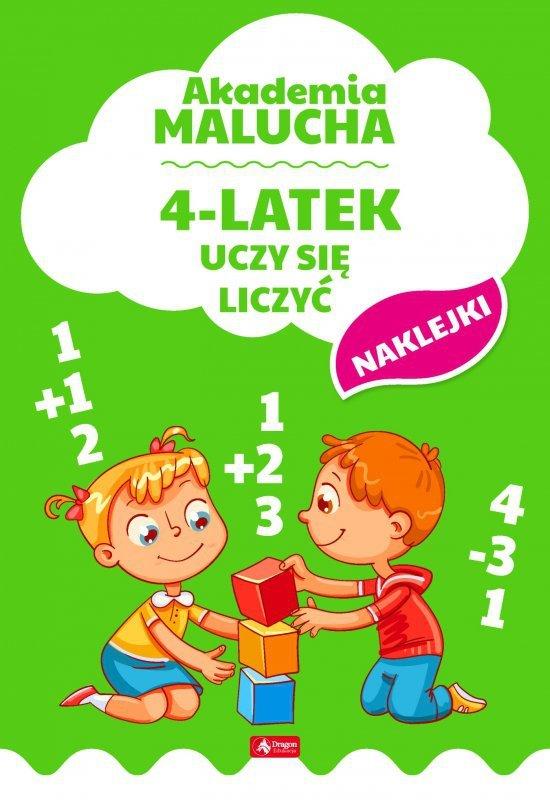 4-latek uczy się liczyć akademia malucha
