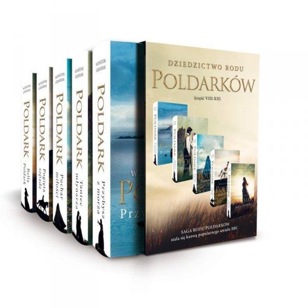 Pakiet Dziedzictwo Rodu Poldarków tomy 8-12