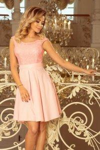 Sukienka Model Flora 244-1 Pastel Pink - Numoco