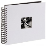 Album 28x24/50 Fine Art Biały czarne strony - Hama