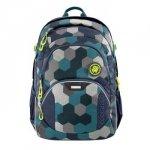 Plecak szkolny JobJobber 2, Blue Geometric Melange - Coocazoo