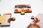Puzzle drewniane 15x20 cm 24 elementy z Twoim nadrukiem
