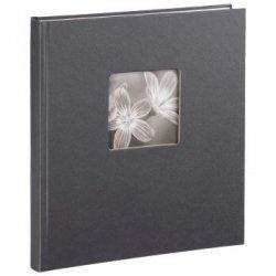 Hama album fine art 29x32/50 oprawa książkowa, szary, białe kartki