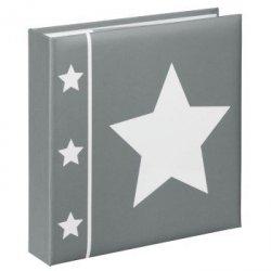 Album na 200 zdjęć 10x15 Gwiazdy z opisem szary Hama