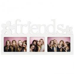 Biała galeria na 3 zdjęcia Montreal z napisem Friends