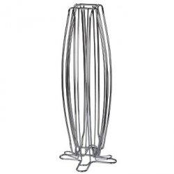 torre stojak na kapsułki  do nespresso, 40 szt., srebrny
