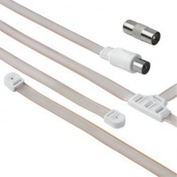 Wire antenna + coax skt