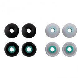 Silikonowe wkładki do słuchawek rozmiar l, 8 szt.