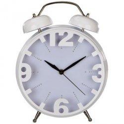 Elegancki, biały zegar stołowy NOSTALGIA