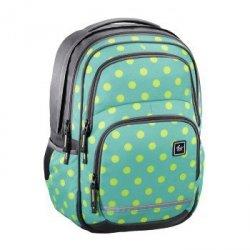 Plecak szkolny Blaby Mint Dots - All Out Hama
