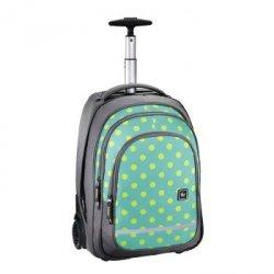 Trolley szkolny bolton kolor: mint dots