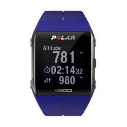 V800 hr niebieski zegarek sportowy z nadajnikiem pomiaru tĘtna