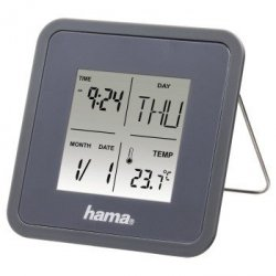 Multi alarm clock, grey