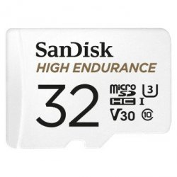 Micro sd 64gb high endurance monitoring (microsd hc) 100mb/s c10, 5000h