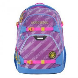 Coocazoo plecak scalerale, meshflash, neon pink