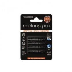 4 akumulatorki Panasonic Eneloop PRO AAA R3 900 mAh + opakowanie
