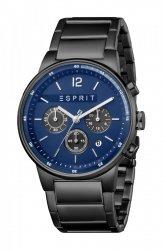 Męski zegarek Esprit ES Equalizer Blue Black MB. ES1G025M0085