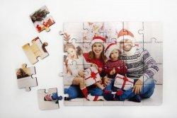 Puzzle drewniane 20x30 cm z Twoim nadrukiem