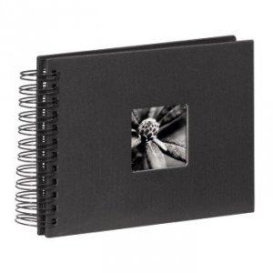 Album 24x17/50 Fine Art Czarny czarne strony - Hama