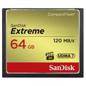 Karta pamięci Compact Flash Extreme Pro 120MB/s 64GB Udma 7 - SanDisk