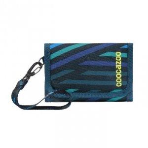 Portfel dziecięcy AnyPenny Zebra Stripe Blue - Coocazoo