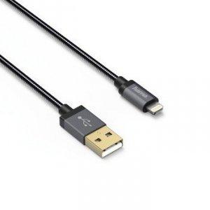 Kabel USB 2.0 A - Lighting Elite 0.75 m - Hama