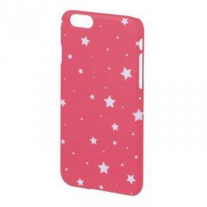 Etui gsm design line iphone 6 gwiazdki różowy