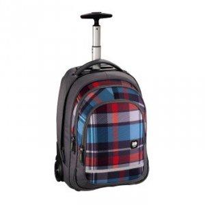 Plecak szkolny na kółkach Bolton Woody Grey - All Out Hama