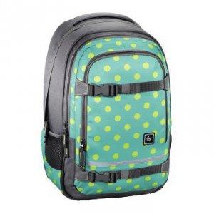 Plecak szkolny Selby Mint Dots  - All Out Hama