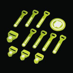 Zestaw Elementów Wymiennych Special Reflective Lime - Coocazoo