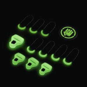Zestaw Elementów Wymiennych Special Glow Black - Coocazoo