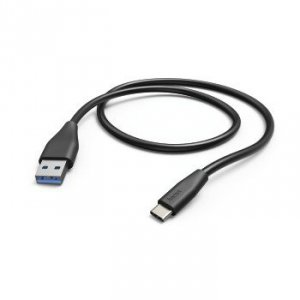 Kabel ładujący/data Typ-C - USB 3.1 1,5m czarny - Hama