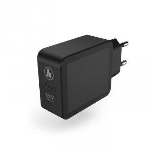 Ładowarka sieciowa PD/QC 18 Watt czarna - Hama