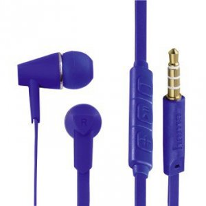 Słuchawki douszne Joy niebieskie - Hama