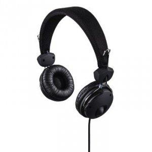 Słuchawki nauszne Fun4music czarne - Hama