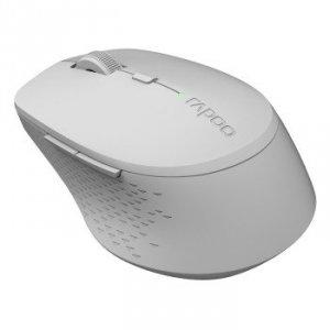 Mysz optyczna bezprzewodowa 2.4 ghz + bluetooth m300 szara