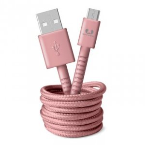 Kabel Micro USB 1.5m Dusty Pink - Fresh'n Rebel