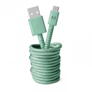 Kabel Micro USB 3.0m Misty Mint - Fresh'n Rebel
