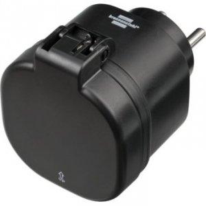 Brennenstuhl gniazdko sterowane wifi wa 3000 xs02 czarna ip44