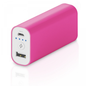 TTEC Ultra Universal Powerbank 5200mAh USB różowy (2BB107P)