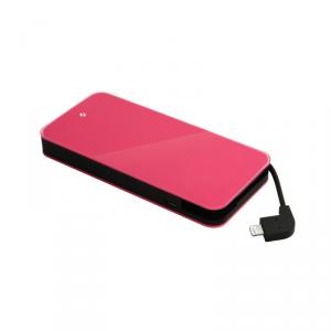 TTEC Easy Charge Slim Powerbank MFi 3000mAh USB różowy (2BB111P)