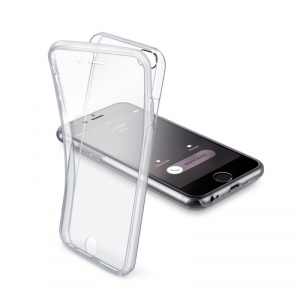 CELLULAR LINE Clear Touch Etui iPhone 6/6S transparentne