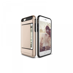 VRS DESIGN Damda Clip Etui iPhone 6/6S złote