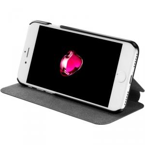 AZURI Ultrathin Booklet Etui iPhone 7 czarne