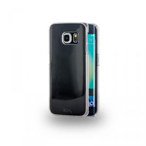 AZURI Etui Samsung Galaxy S6 Edge transparentne
