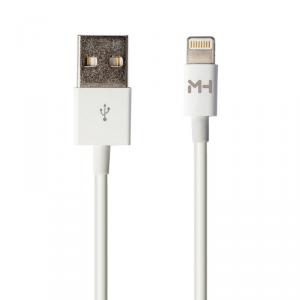 MUSTHAVZ Kabel light iPhone 5/6/7 2m biały