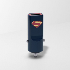 TRIBE DC Movie Ładowarka samochodowa Buddy 1 USB Superman