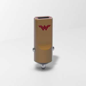 TRIBE DC Movie Ładowarka samochodowa Buddy 1 USB Wonder Woman