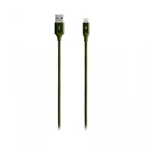TTEC Lightning Kabel aluminiowy khaki