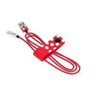 TRIBE Disney Kabel lightning MFi 1,2 m Minnie Mouse